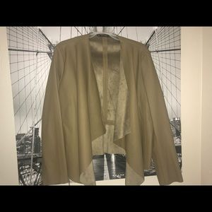 A Zara faux leather jacket, only worn once!